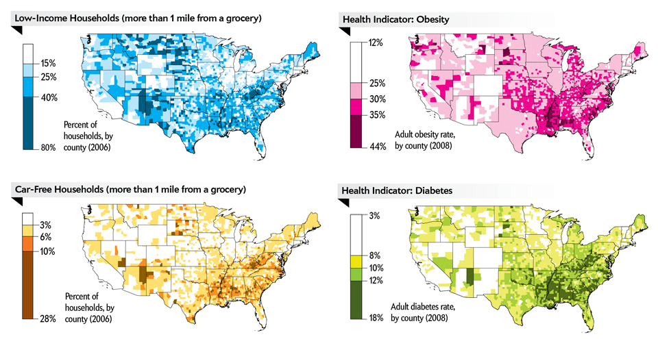 Food Deserts Welcome Dragons - Map of deserts in the us